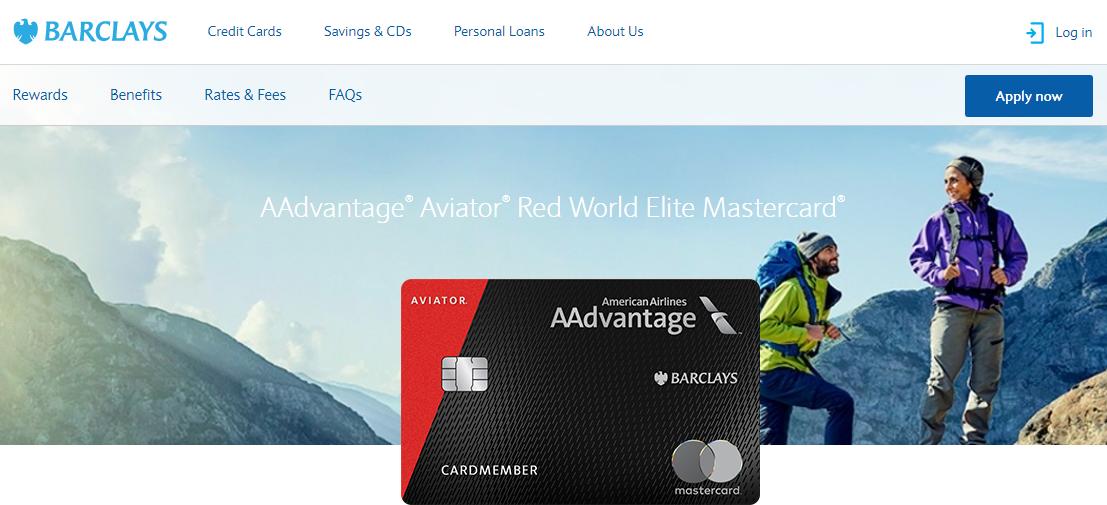 AAdvantage Aviator Red World Elite Mastercard Logo