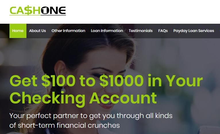 CashOne logo