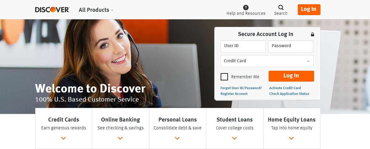 Discover Card Services Logo