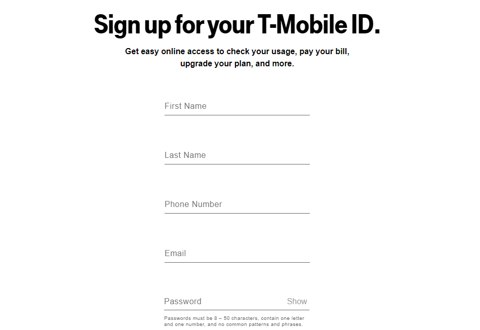 mytmobile com - How To Login In T-Mobile Online Account