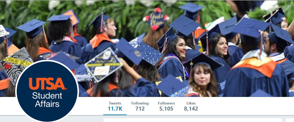 UTSA Student Affairs UTSAStudents Twitter