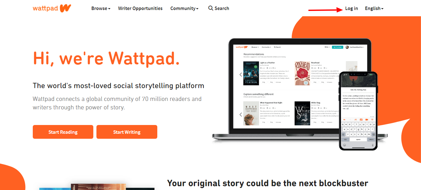 Wattpad Where stories live