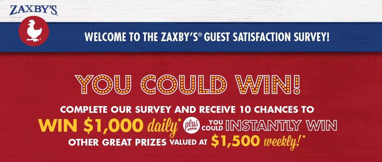 ZAXBY'S Guest Satisfaction Survey logo