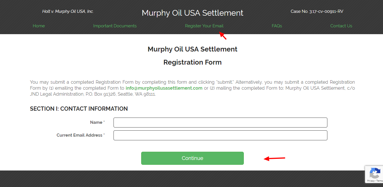 Submit A Claim Murphy Oil Settlement