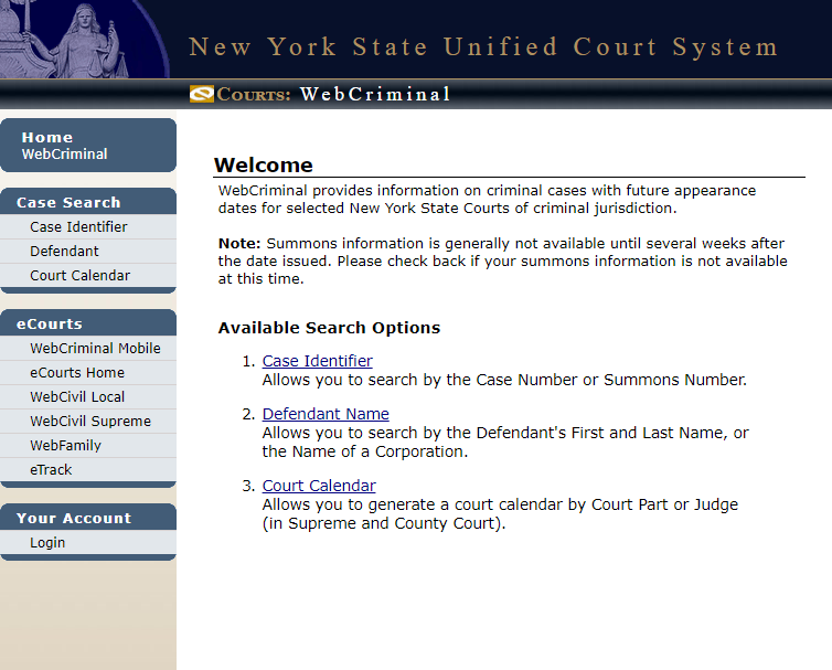 iapps courts state ny us/webcrim_attorney/Login - How To