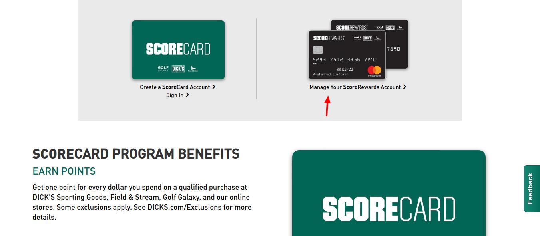 dickssportinggoods-score-card-manage-account
