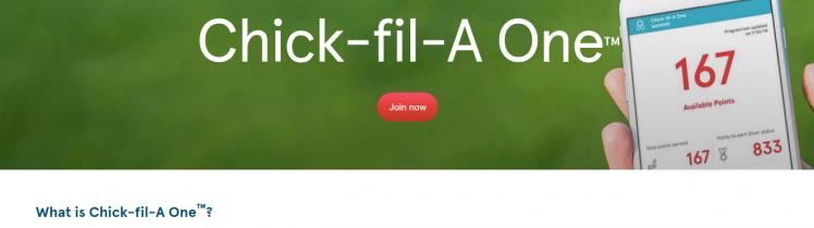 Chick-fil-A One Logo