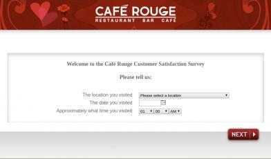 Café Rouge Survey