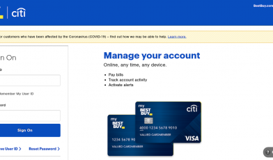 Reward Zone MasterCard Login