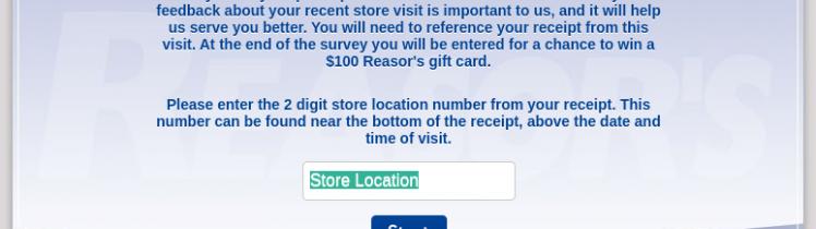 Reasors Survey