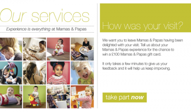 Mamas and Papas Customer Satisfaction Survey