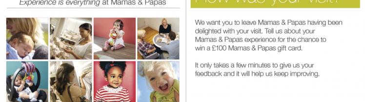 Mamas and Papas Customer Satisfaction Survey