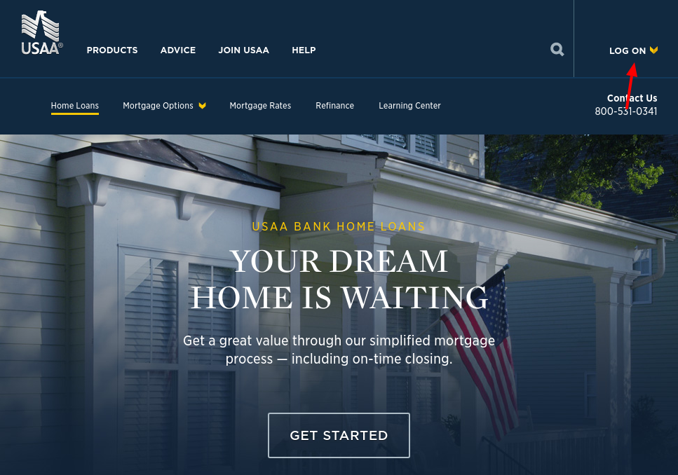 USAA mortgage Login