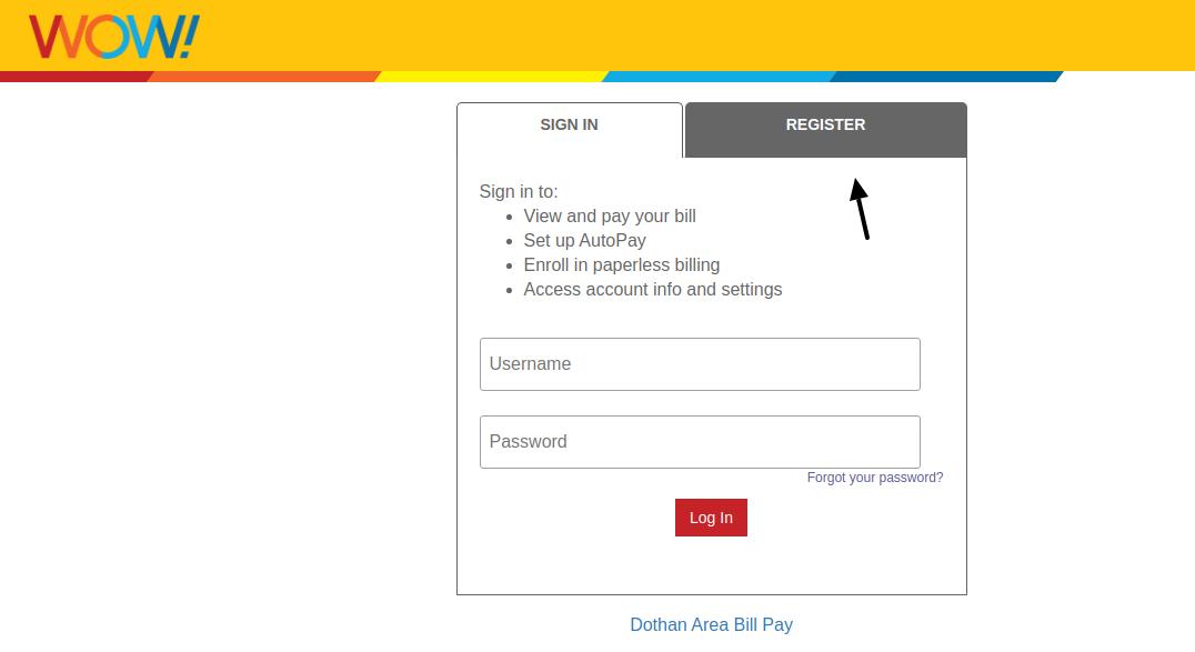 WOW Register