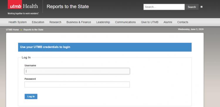 IUTMB Staff portal Login