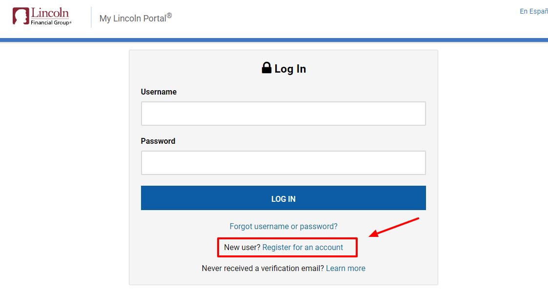 Mylincoln portal login