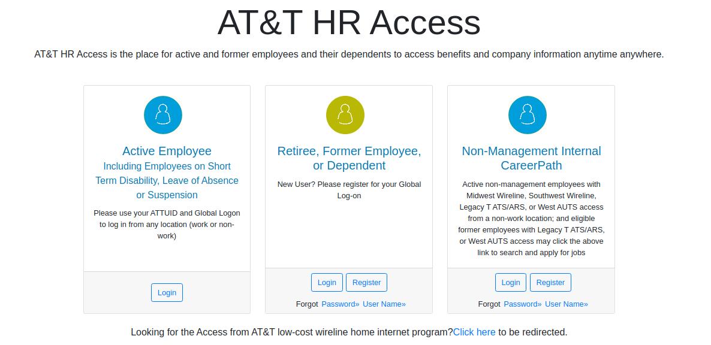 AT&T HR Access Login