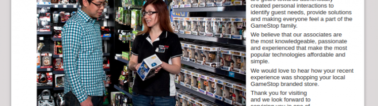 GameStop Customer Survey