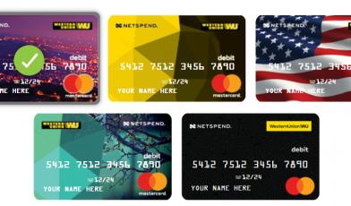 Western Union Netspend Prepaid Card Logo