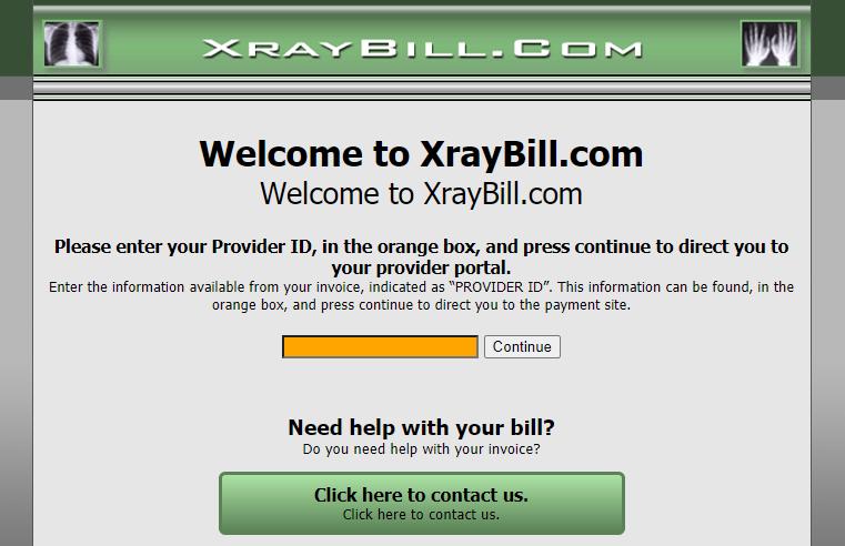 XrayBill Pay
