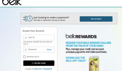 Belk-Credit-Card-Account